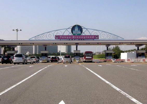 駐車場(TDL)