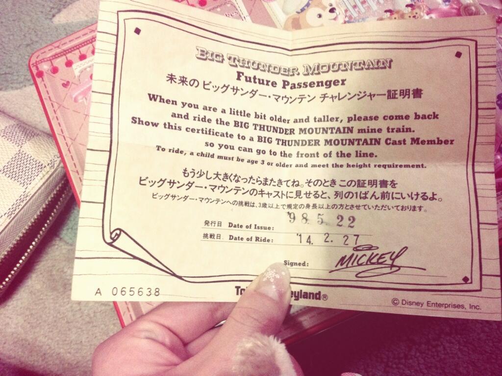 お母さん 愛のファストパス!16年前のチケットを使って最前列へ | tdr