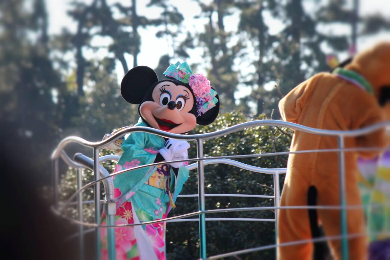minnie in kimono