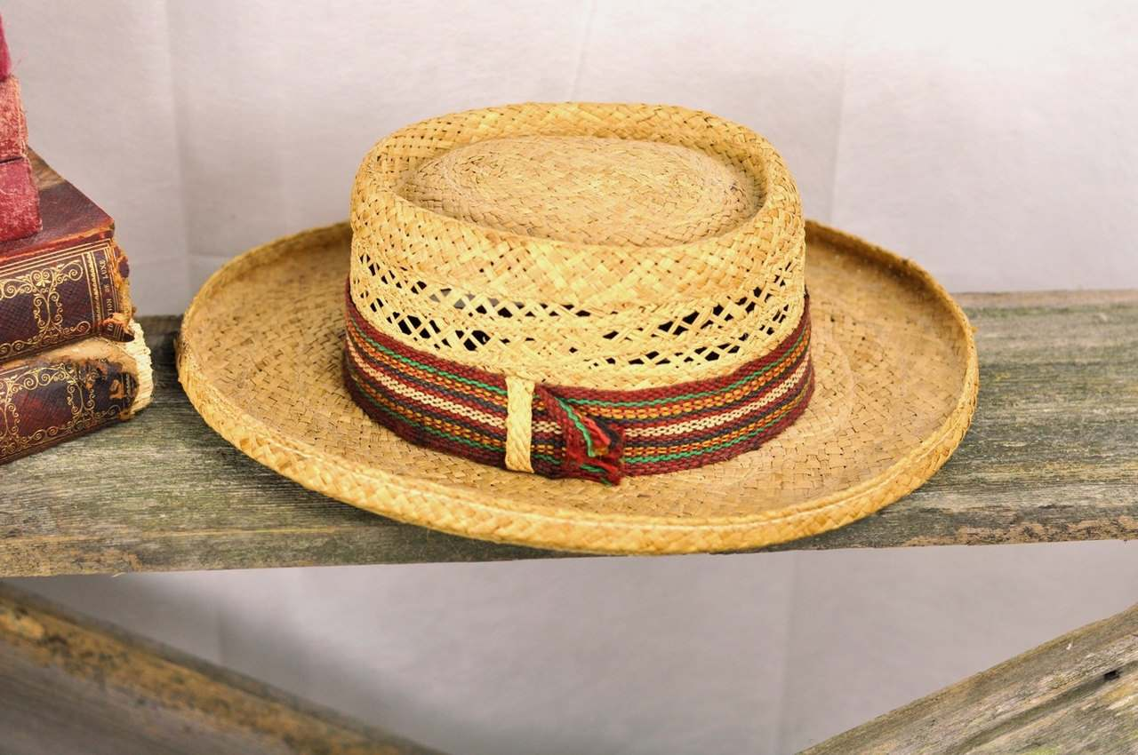 photo credit: Vintage Mens Straw Hat Size Large Hat Wicker Jimmy Buffett Style Made in Italy - ArmorOfModernMen via photopin (license)