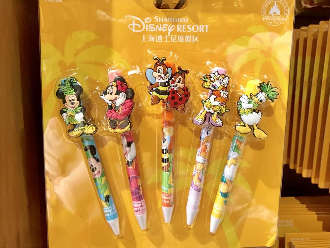 上海ディズニーグッズ特集】日本では買えない上海ディズニー限定商品や