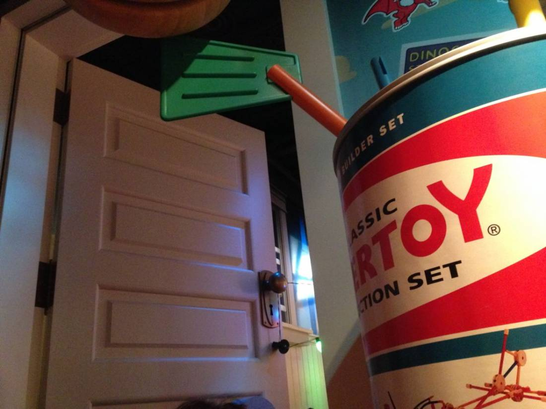 a big door toystory mania