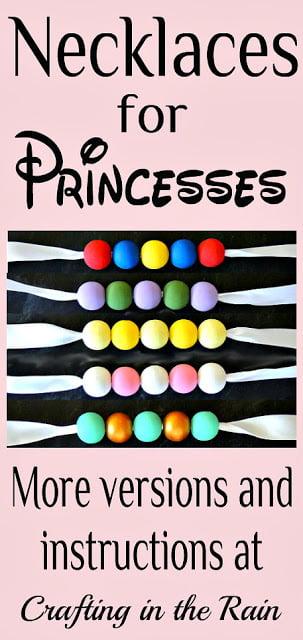 cute princess necklace