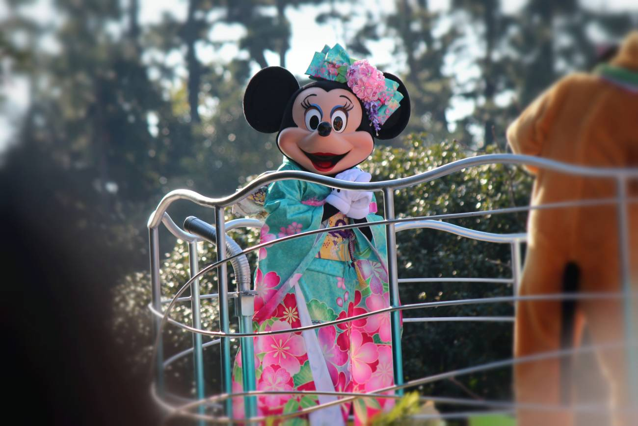 minnie kimono