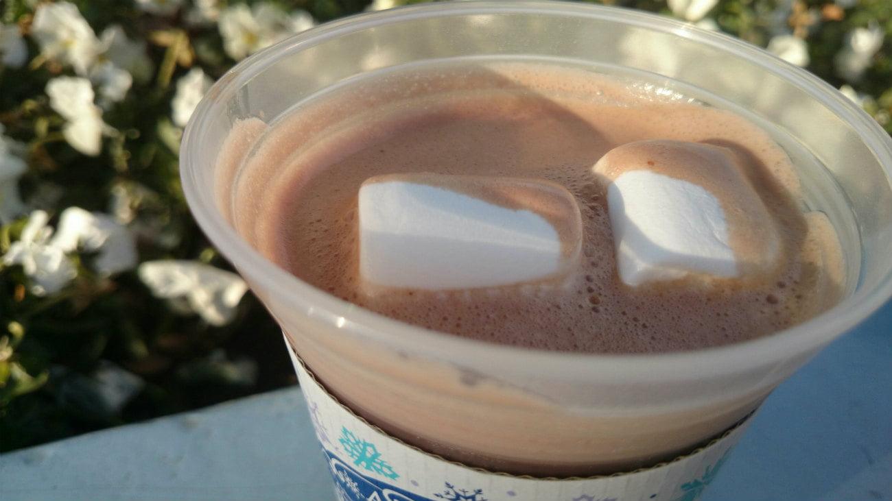 オラフホットチョコレートドリンク1