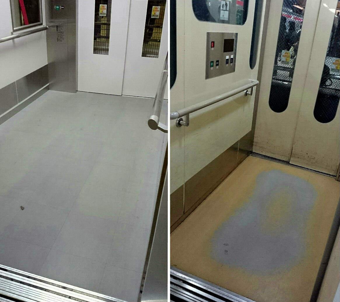 エレベーター新旧比較