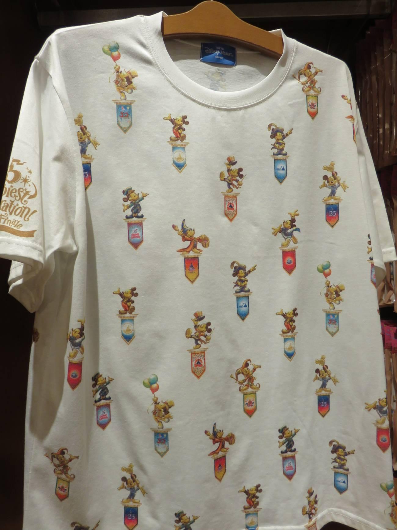 35周年グランドフィナーレグッズのTシャツ