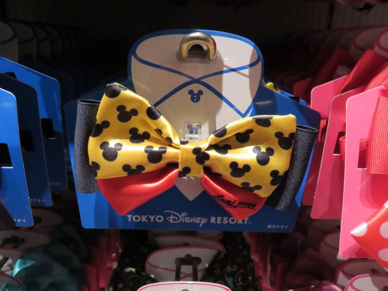 ミッキーの蝶ネクタイ