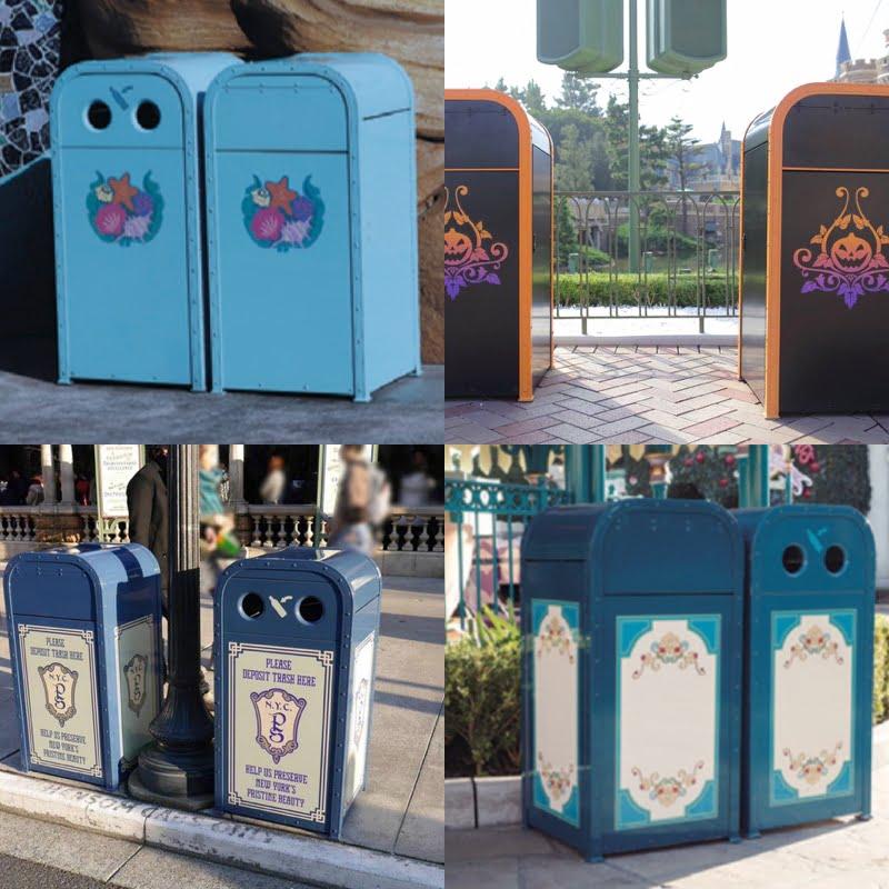 ディズニーのゴミ箱