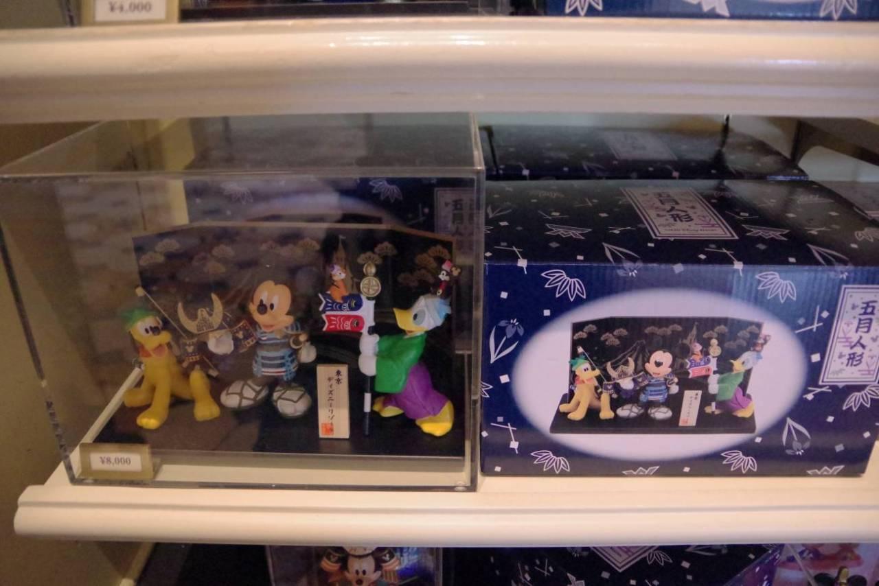 ミッキーとドナルドとプルートとチップとデール五月人形