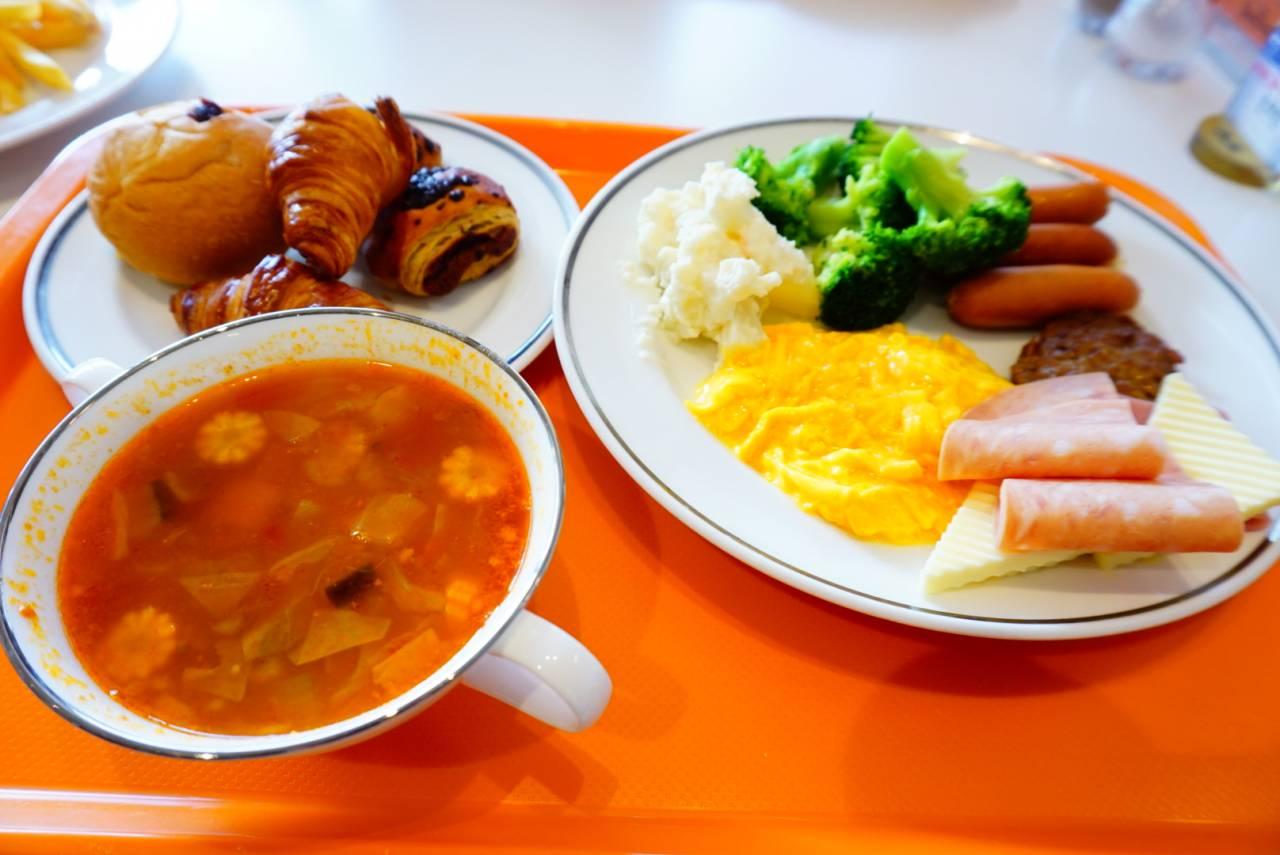 オリエンタルホテルの朝食