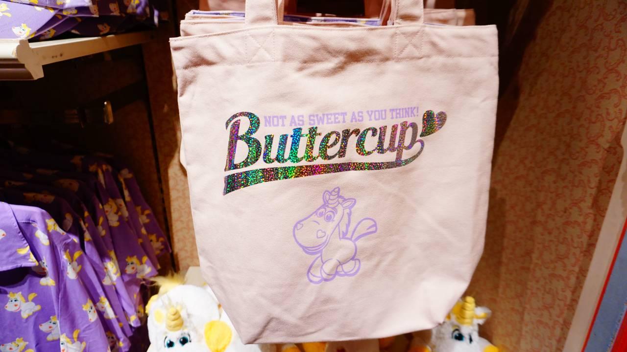 バターカップのトートバッグ