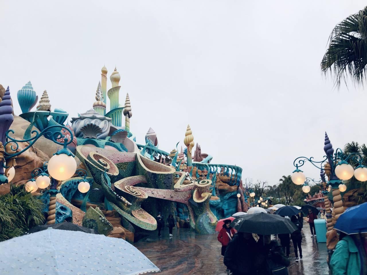 雨の日のマーメイドラグーン