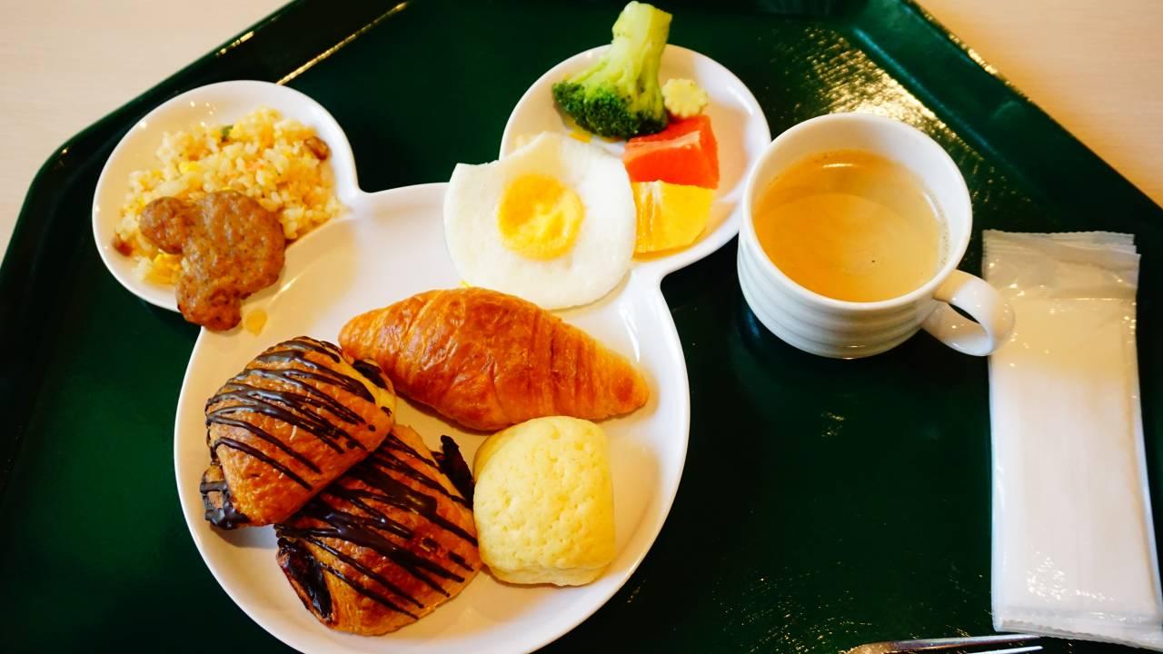 セレブレーションホテルの朝食