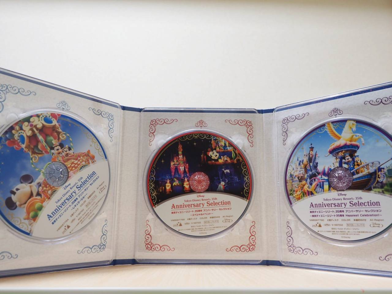 東京ディズニーリゾート35周年アニバーサリー・セレクションのDVD