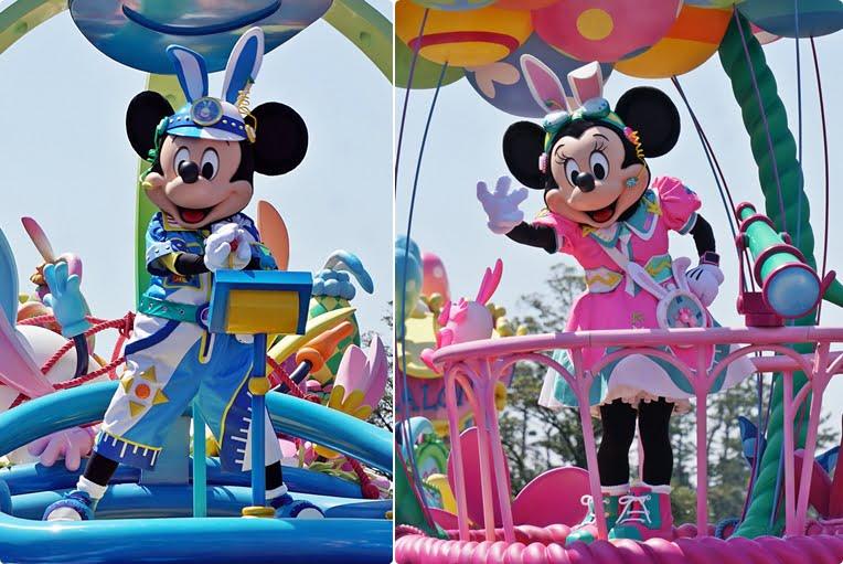 2019年ディズニーイースターのミッキーとミニー