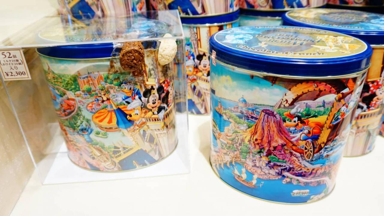 ディズニーの缶のお菓子 チョコクランチ